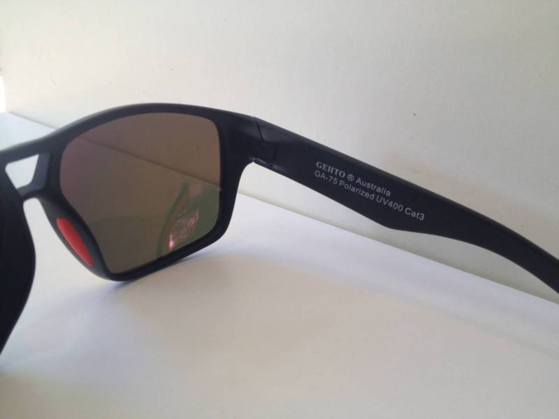 GEHTO sunglasses UV400 Category 3 Printed Inside Temple